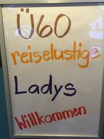 Besuch Ü60 reiselustige Ladies
